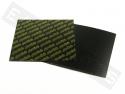 Carbonvel POLINI 110x110mm (dikte 0,25)