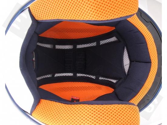 Casco 107r Taormina Blu Opaco Lunga Xs