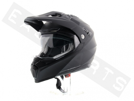 Casco 606a Forefront Nero Opaco Xs