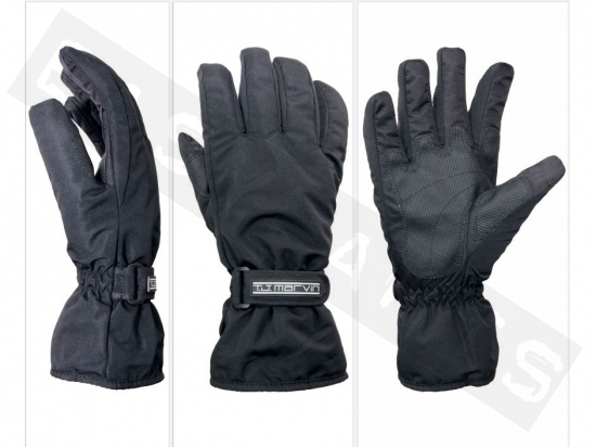 Guantes de invierno T.J. MARVIN A04 gelo impermeable negro