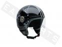 Helm Demi Jet 3D Vintage 2 Integra (gevormd vizier)