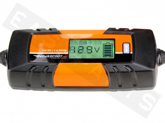 Acculader NOVASCOOT F4 1-4,5Amp 6V/12V